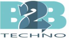 Логотип - ООО «В2В ТЕХНО». Сервисный центр по кассовым аппаратам.