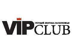 Логотип - VIP club, первый журнал  Запорожья