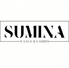 Логотип - «SUMINA Nails&Lashes» Школа-студия ногтей и ресниц Александры Суминой