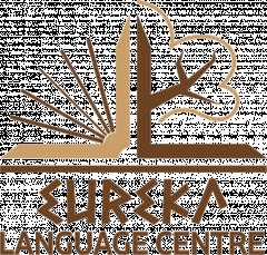Логотип - Центр изучения иностранных языков, бюро переводов Eureka, Эврика