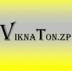 Логотип - Vikna Ton.zp (ВікнаТон.zp) - тонировка защитной пленкой окон, витрин, офисов в Запорожье