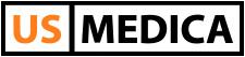 Логотип - US Medica, Массажное оборудование в Запорожье
