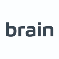 Логотип -  Brain - компьютеры и гаджеты в Запорожье