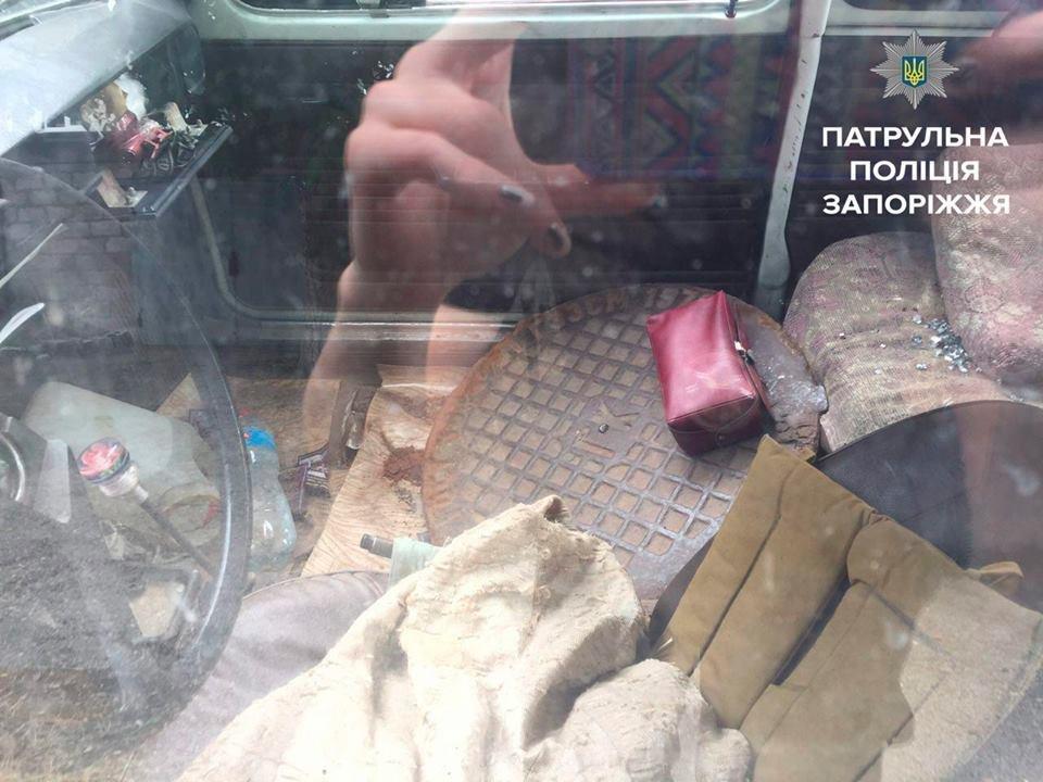 В Запорожье полицейские устроили погоню за вором канализационных люков, - ФОТО, фото-2
