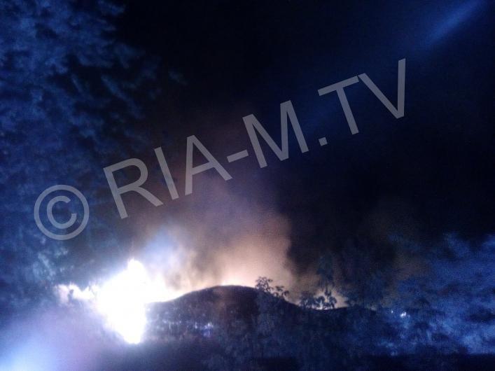 В центре Мелитополя случился пожар, - ФОТО, фото-2