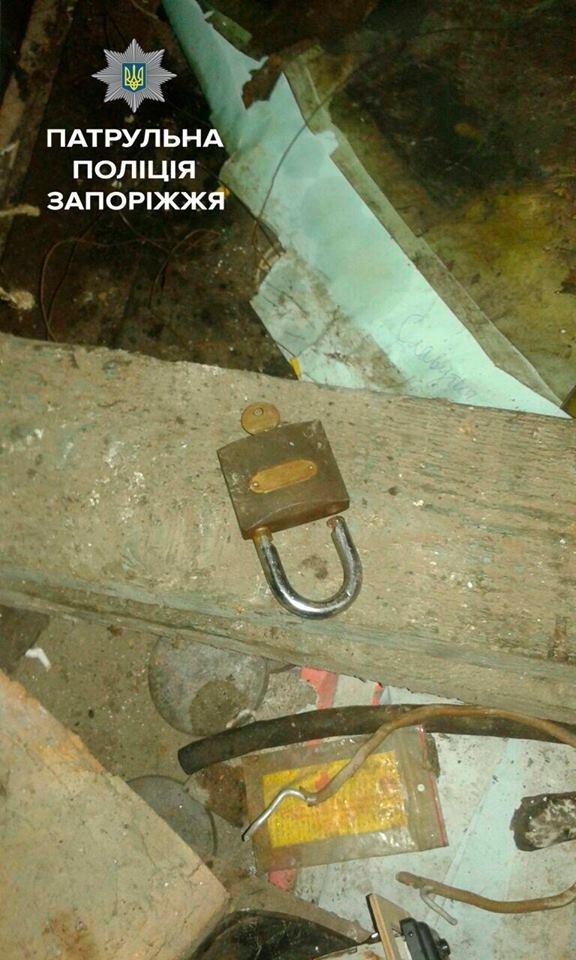 В Запорожье женщина обнаружила в своем гараже троих воров, - ФОТО, фото-3