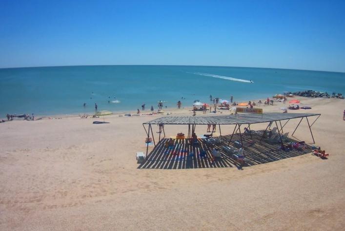 Благодаря шторму, пляжи Азовского моря вновь стали чистыми, - ФОТО, фото-3