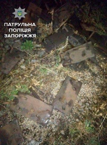 В Запорожье бывший сотрудник железной дороги, будучи пьяным, разбирал железнодорожные пути, - ФОТО, фото-1