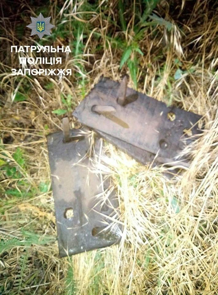 В Запорожье бывший сотрудник железной дороги, будучи пьяным, разбирал железнодорожные пути, - ФОТО, фото-2