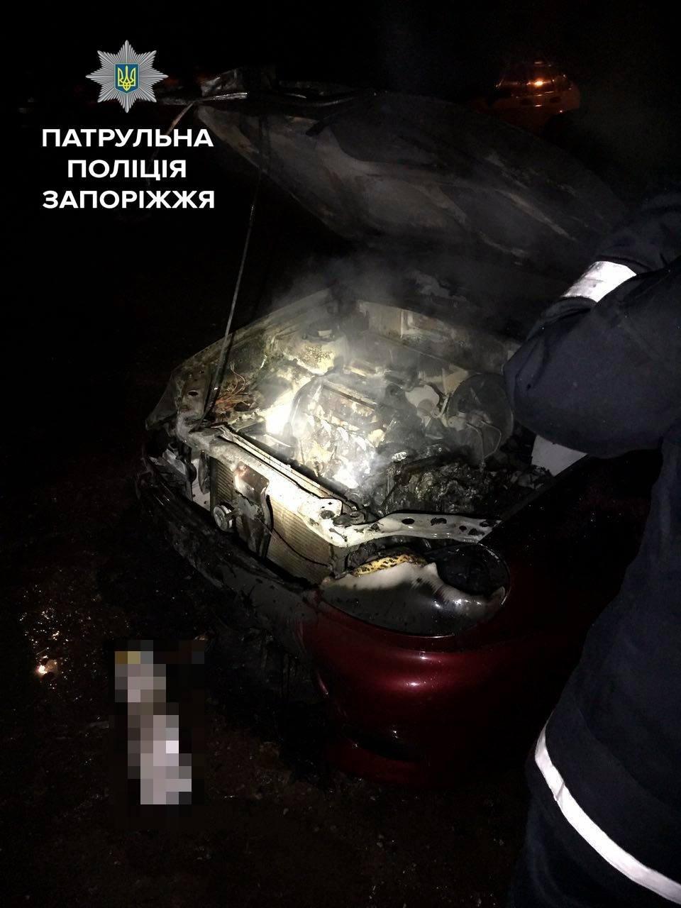 Минувшей ночью в Запорожье сгорел еще один автомобиль, - ФОТО , фото-2