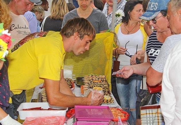 Раки, мидии и бычки: в Бердянске прошел фестиваль морепродуктов, - ФОТО, фото-2