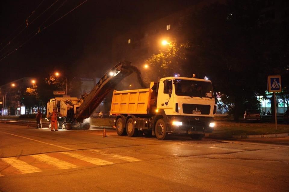 В Запорожье начали ремонтировать дорогу на центральном проспекте, - ФОТО , фото-1