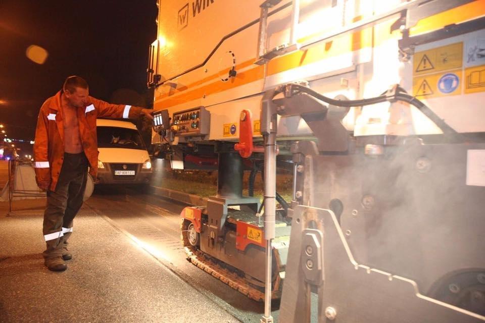 В Запорожье начали ремонтировать дорогу на центральном проспекте, - ФОТО , фото-4