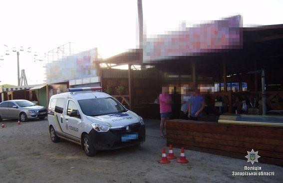 На Запорожском курорте произошла стрельба: двое ранены, - ФОТО, фото-2