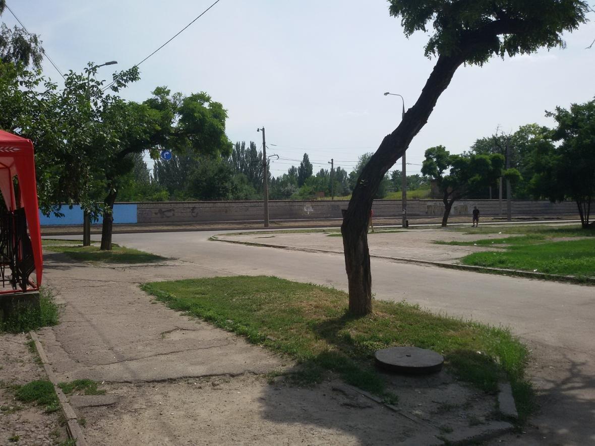 В Запорожье на одной из стен рисуют украинский орнамент, - ФОТО, фото-2