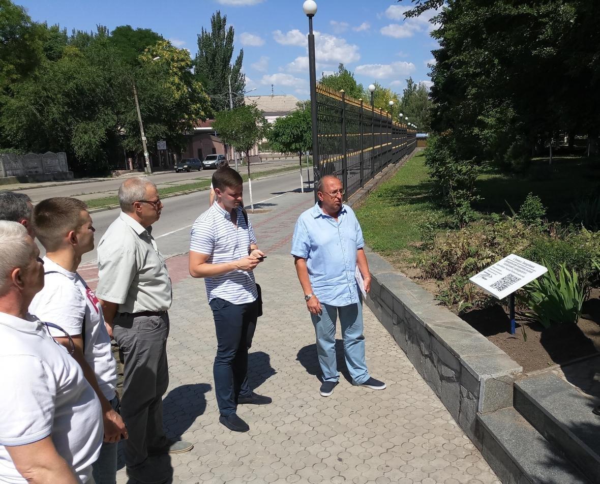 У Запорожского Национального технического университета появился QR-код в рамках проекта «Символы Запорожья» под патронатом мецената Алекса..., фото-6