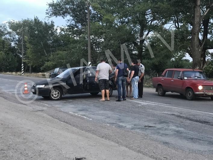 В Запорожской области иномарка вылетела в кювет, – ФОТО, фото-1