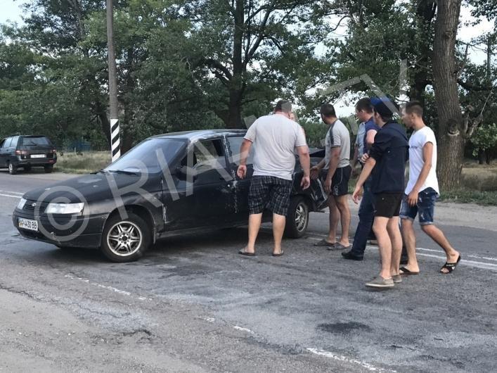 В Запорожской области иномарка вылетела в кювет, – ФОТО, фото-3