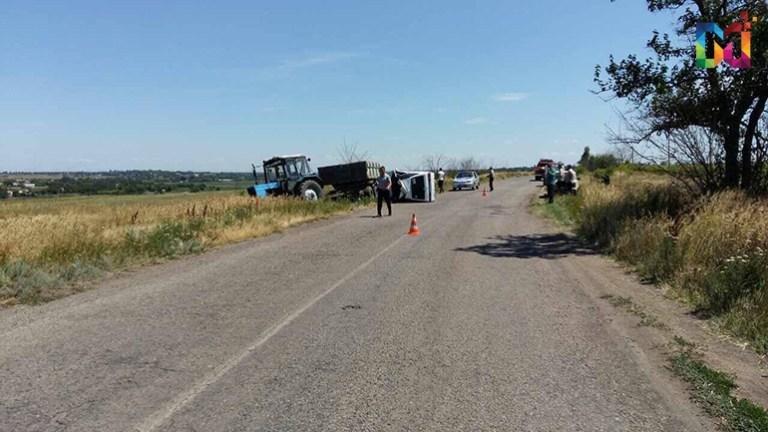 В Запорожской области «Таврия» врезалась в трактор: водитель в коме, – ФОТО, фото-2