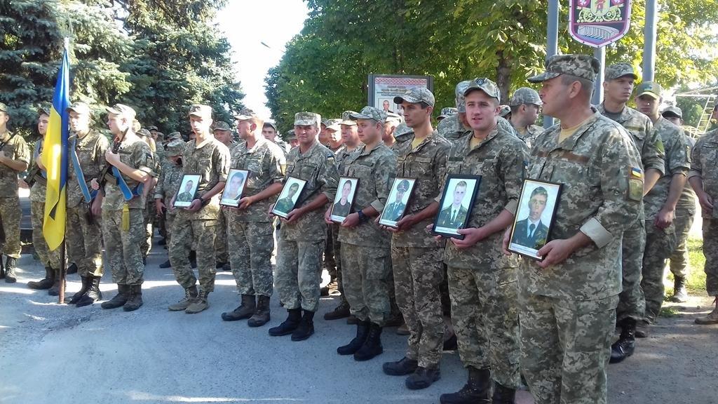 В Запорожье почтили память погибших героев 55-й бригады, - ФОТО , фото-5