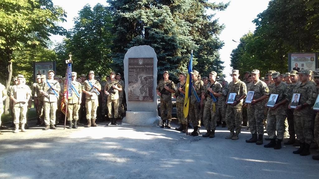 В Запорожье почтили память погибших героев 55-й бригады, - ФОТО , фото-4