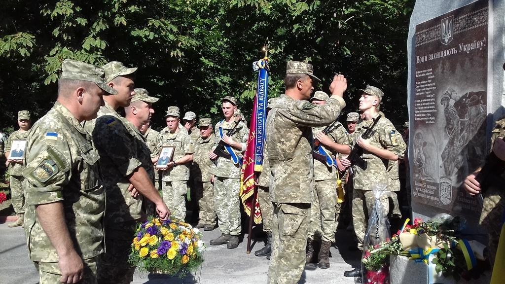 В Запорожье почтили память погибших героев 55-й бригады, - ФОТО , фото-6