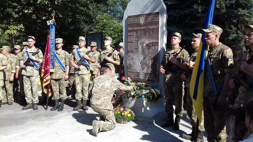 В Запорожье почтили память погибших героев 55-й бригады, - ФОТО , фото-1