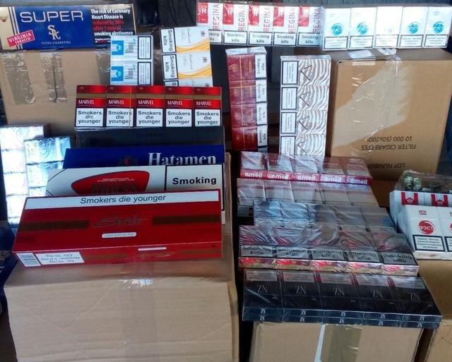 В Запорожье фискалы изъяли контрабандных сигарет на 1,2 миллиона гривен, – ФОТО, фото-1