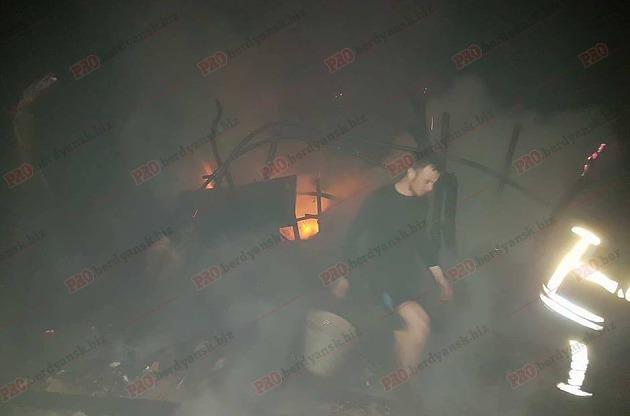 В Запорожской области жители микрорайона сообща тушили большой пожар, – ФОТО, фото-2