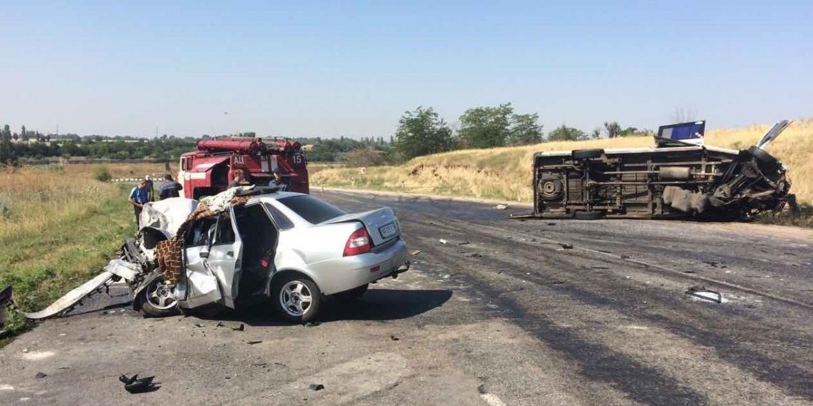 В Запорожской области произошло ДТП с нелегальной маршруткой: водитель скончался на месте, - ФОТО, фото-5