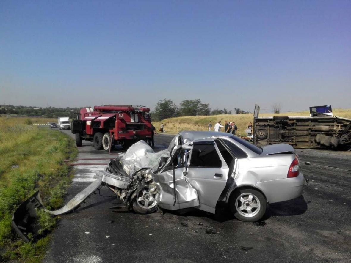 В Запорожской области произошло ДТП с нелегальной маршруткой: водитель скончался на месте, - ФОТО, фото-3