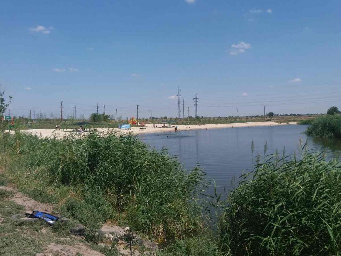 В Запорожской области из озера достали тело рыбака, - ФОТО, фото-1