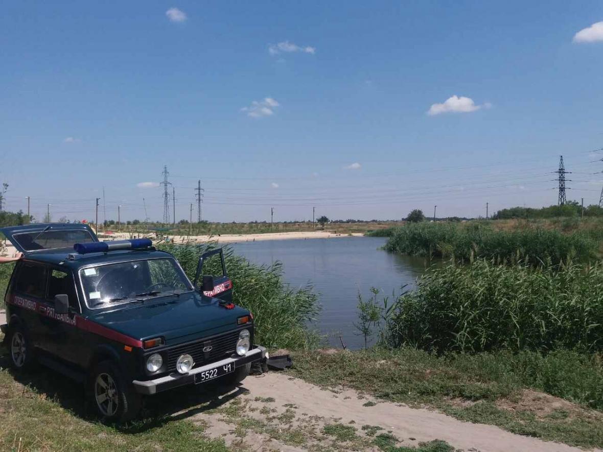 В Запорожской области из озера достали тело рыбака, - ФОТО, фото-4