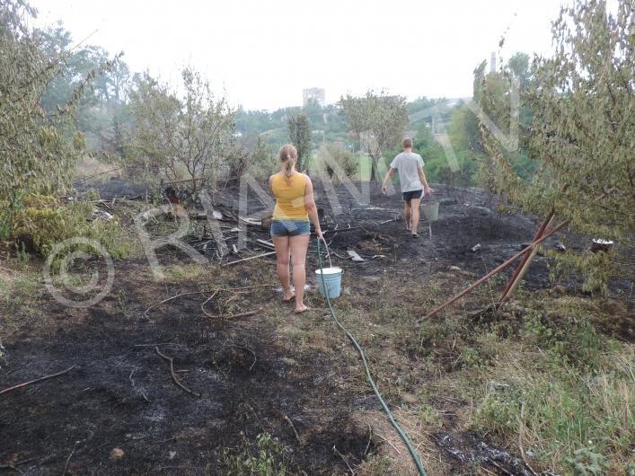 В Запорожской области жители поселка опасаются лишиться домов из-за пожаров, - ФОТО, фото-5