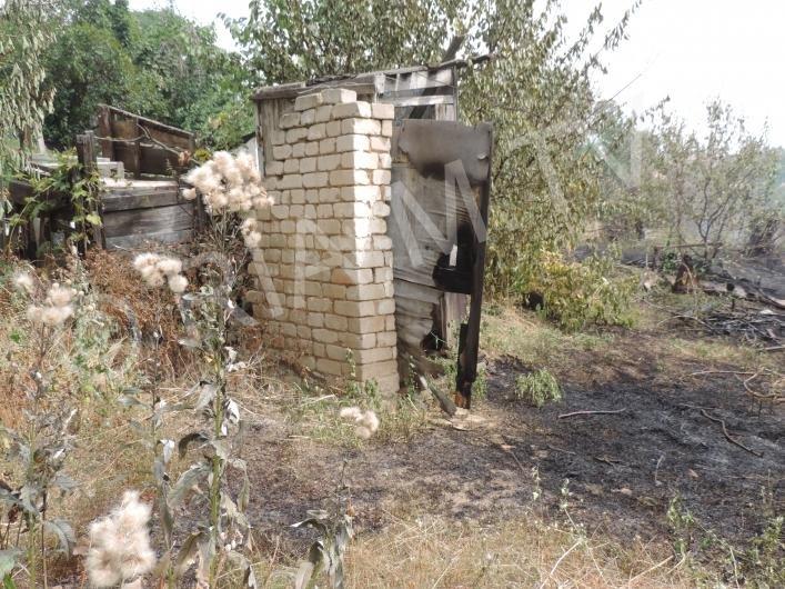 В Запорожской области жители поселка опасаются лишиться домов из-за пожаров, - ФОТО, фото-4