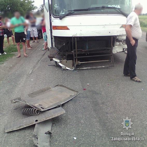 В результате ДТП на запорожской трассе погиб водитель легковушки, - ФОТО, фото-2