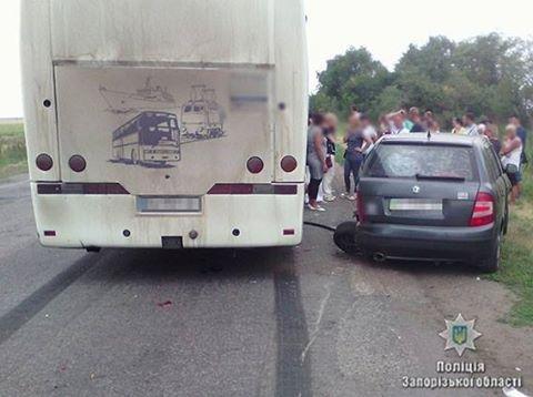 В результате ДТП на запорожской трассе погиб водитель легковушки, - ФОТО, фото-4