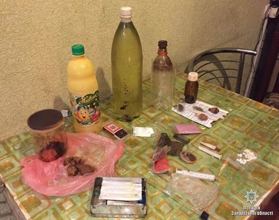 В Запорожской области разоблачили очередной наркопритон, - ФОТО, фото-1