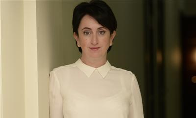 Глава правления банка Кредит Днепр Елена Малинская