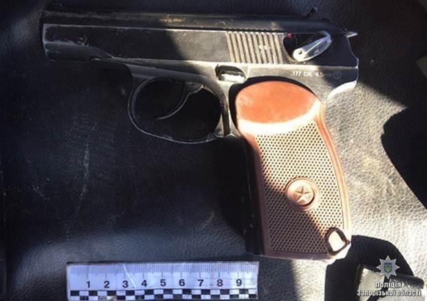 В Запорожской области на блокпосту изъяли незаконное оружие, — ФОТО, фото-2