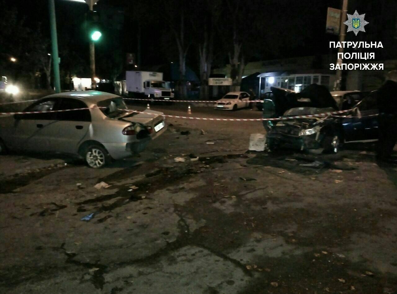 В Запорожье пьяный сотрудник СТО на авто клиента разбил три автомобиля, – ФОТО, фото-2