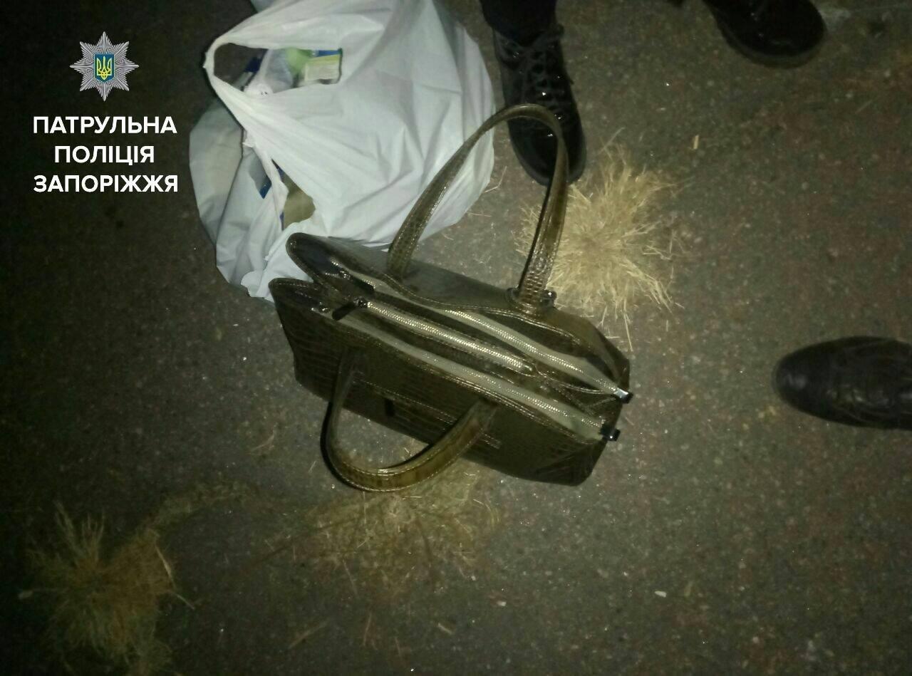 В Запорожье нацгвардеец помог задержать грабителя, — ФОТО, фото-1