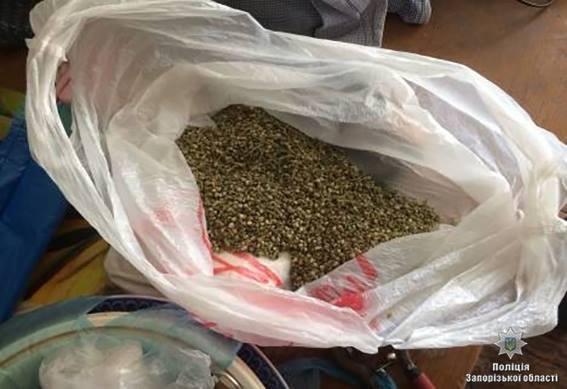 В Запорожской области у злоумышленников изъяли 25 килограмм наркотиков, — ФОТО, фото-1