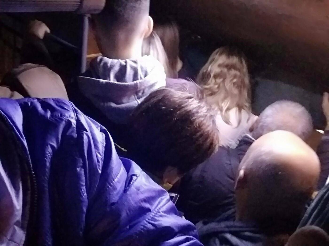 Запорожцы жалуются на перебои в транспорте на Бабурку и в Бородинский микрорайон, - ФОТО , фото-4