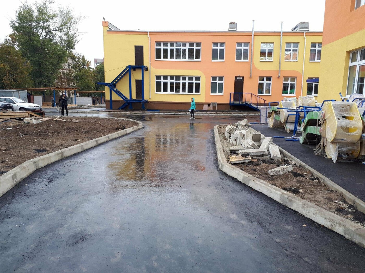 Реконструкция нового детсада в разгаре: депутаты проверили ход работ, фото-7