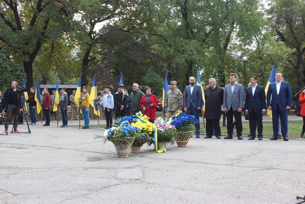 В Запорожье провели митинг ко Дню защитника Украины, — ФОТОРЕПОРТАЖ, фото-4