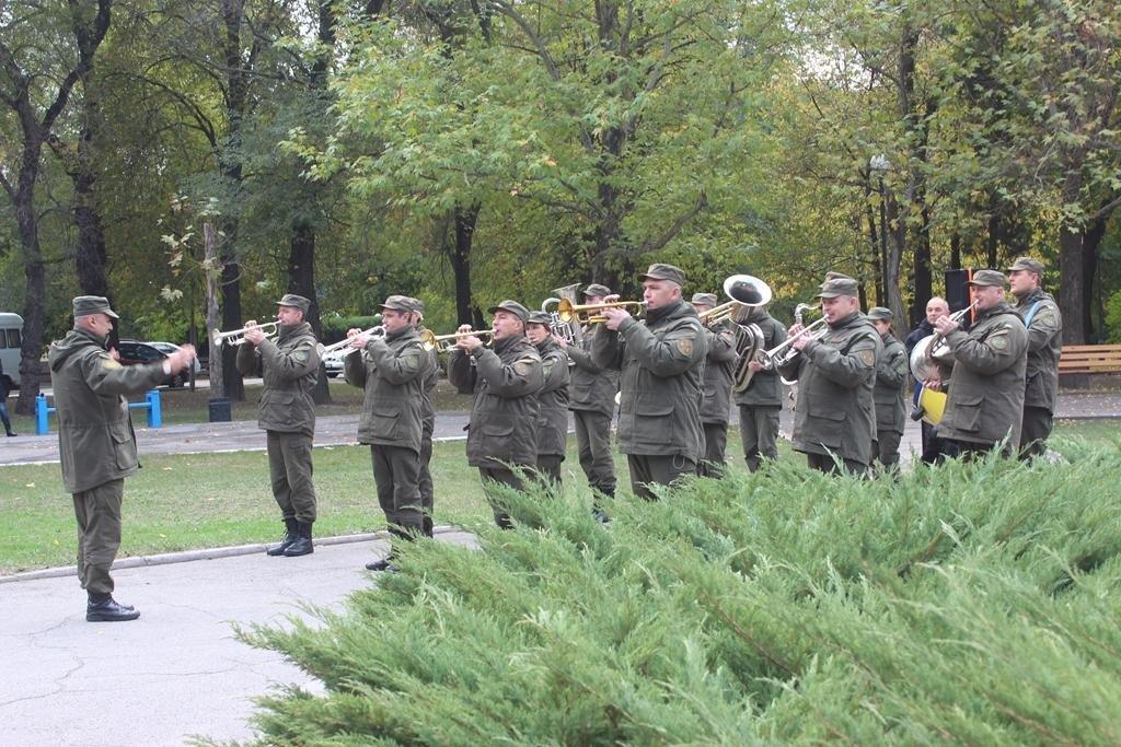 В Запорожье провели митинг ко Дню защитника Украины, — ФОТОРЕПОРТАЖ, фото-1