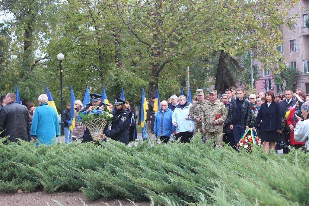 В Запорожье провели митинг ко Дню защитника Украины, — ФОТОРЕПОРТАЖ, фото-6
