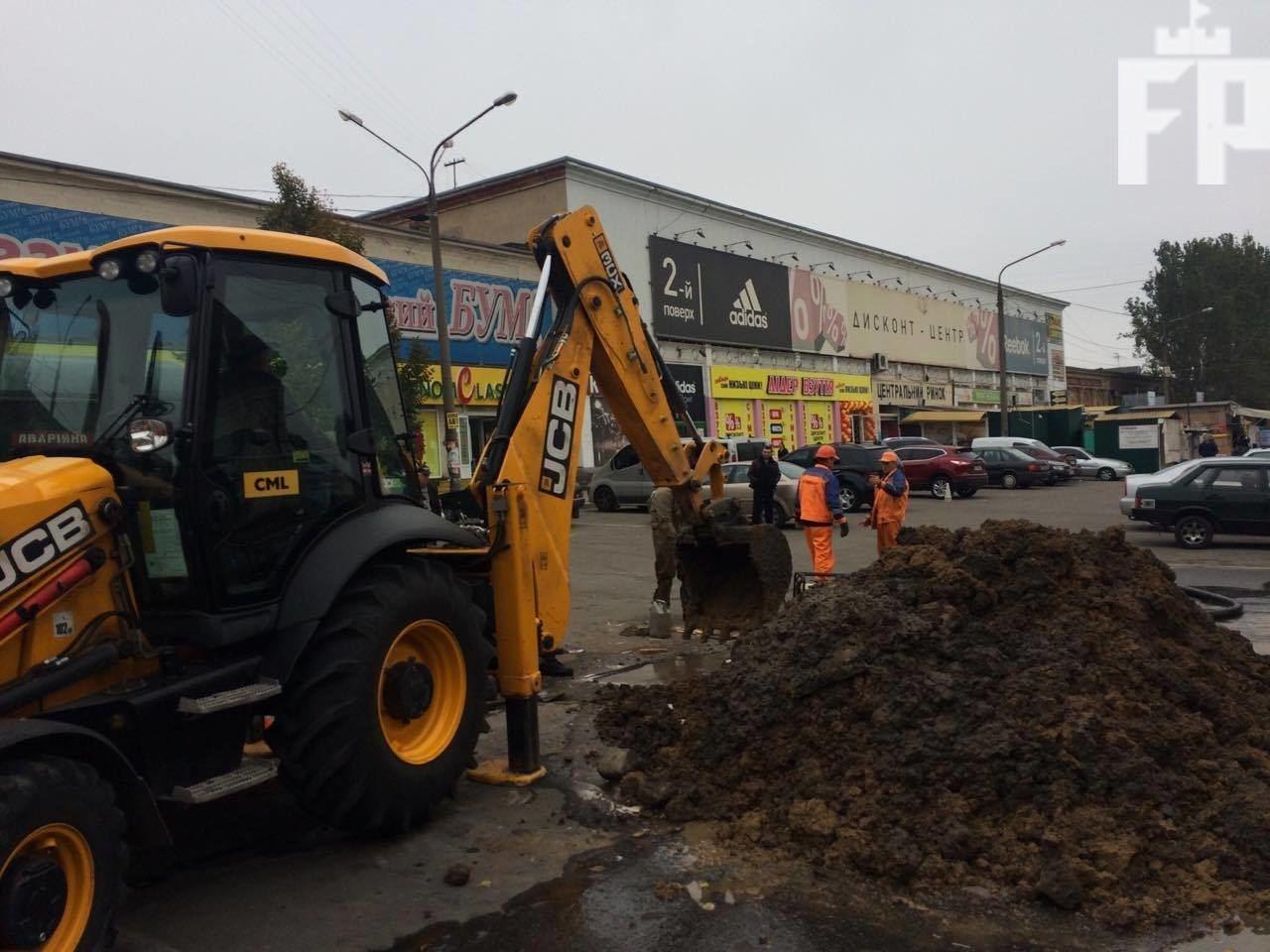 В Запорожье затопило Центральный рынок, — ФОТО, фото-2