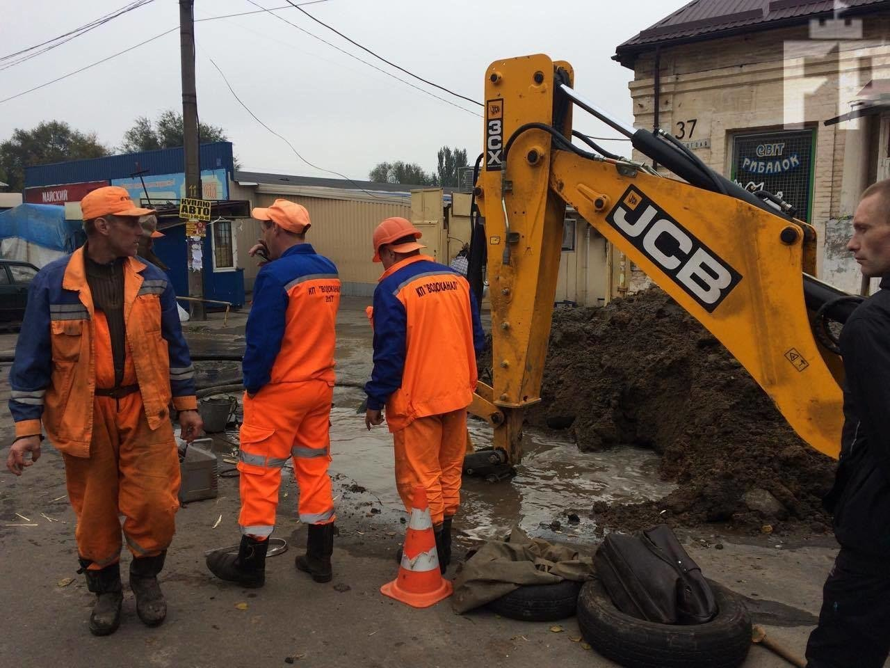 В Запорожье затопило Центральный рынок, — ФОТО, фото-3
